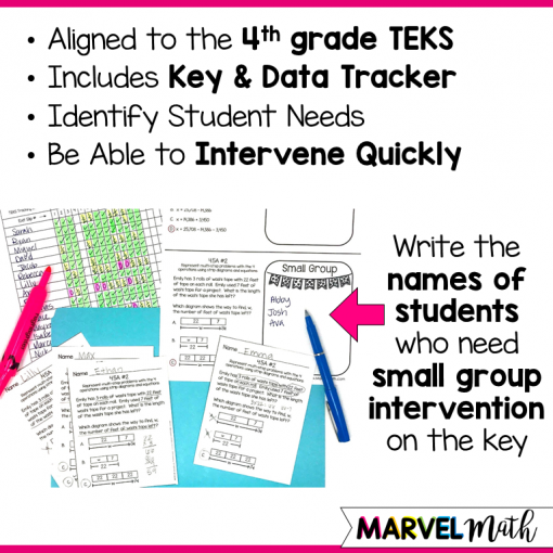 Perfect to help you make sure your students are on track for STAAR. Topics Covered: Multi-step problem solving, strip diagrams, area models, arrays