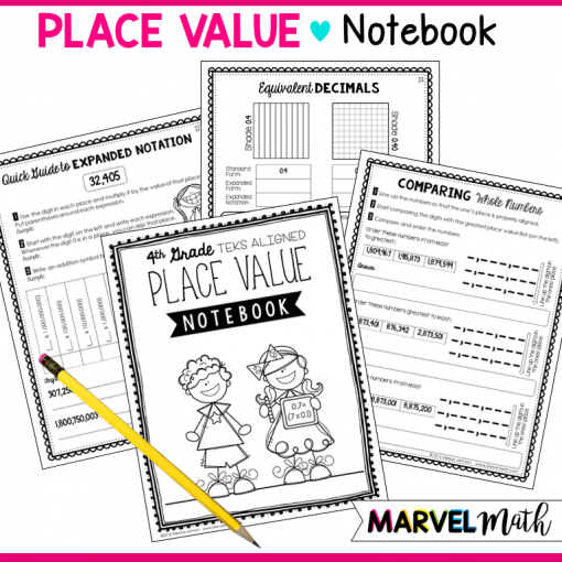 4th Grade Place Value TEKS