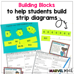 Hands on Strip Diagrams to Solve Multi-step word problems