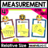 Relative Size of Measurement Units TEKS 4.8A