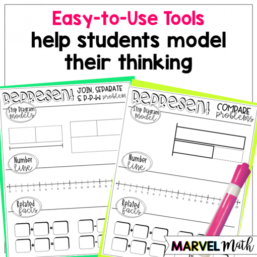 Problem Solving: Using Strip Diagrams with Word Problems