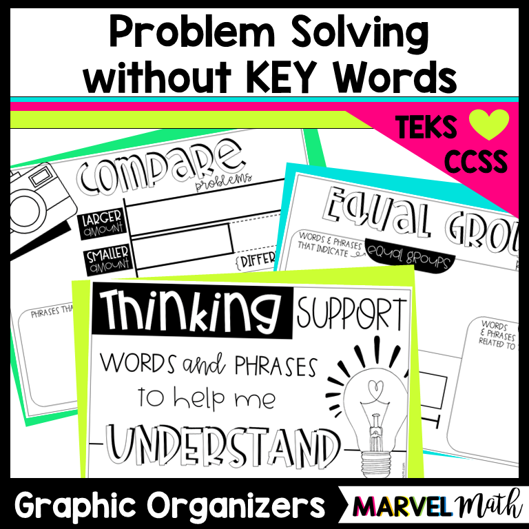 Problem Solving Posters: Truly Teach Thinking without using Key ...