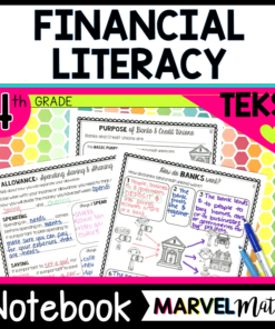 Financial Literacy TEKS 4th Grade