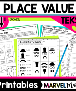 4th Grade Place Value Printables