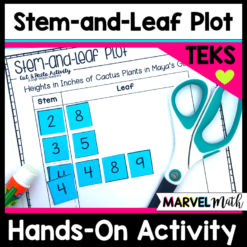 Hands on Stem-and-Leaf Plot Activity