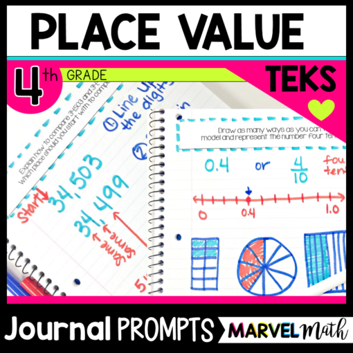 Place Value Journal Prompts