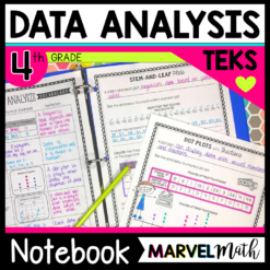 Interactive Notebook for TEKS 4.9A 4.9B