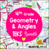 4th Grade Geometry TEKS Unit & Bundle