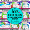 Exit Tickets for the 2nd Grade Math TEKS. These Exit Slips are perfect for daily assessment!