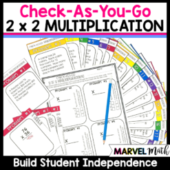 2x2 Multiplication Task Cards