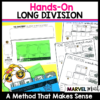 Hands On Long Division that is great for intervention!