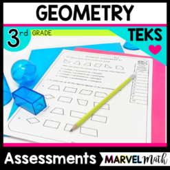 3rd Grade Geometry Tests for your STAAR Math Review