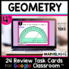4th Grade Geometry STAAR Review for Google Classroom