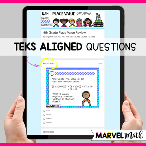 4th Grade TEKS STAAR Review for Google Classroom