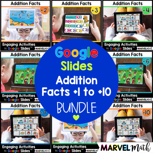 Addition Math Facts Practice