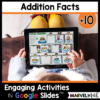 +10 Addition Math Facts Practice