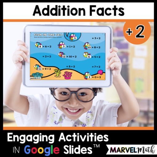 +2 Addition Facts Practice