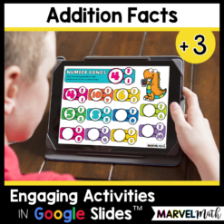 +3 Addition Math Facts