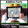 +4 Math Facts Practice