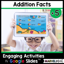 +5 Addition Math Facts