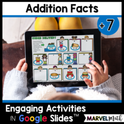+7 Addition Facts Practice