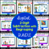 Subtraction with Regrouping Digital Google Classroom Bundle