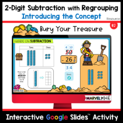 Use Digital Base 10 Blocks to Teach 2-Digit Subtraction with Regrouping
