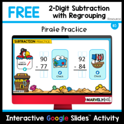Free 2-digit Subtraction with Regrouping Practice