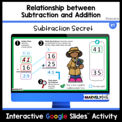 Relationship between Subtraction and Addition