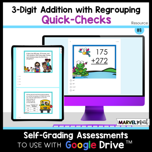 3 Digit Addition with Regrouping Exit Tickets Exit Slips