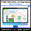 3-Digit Subtraction with Regrouping Word Problems