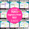 3rd Grade Math Tests for new STAAR question types