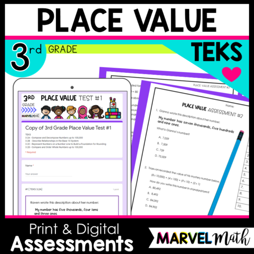 3rd Grade Place Value Test