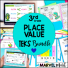 3rd Place Value Activities and Lessons: TEKS