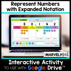 Expanded Notation Activities Google Slides