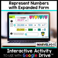 Expanded Form Google Slides Activities