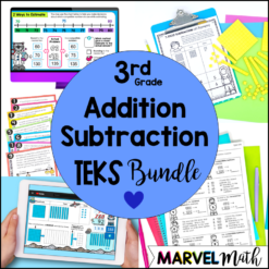 3rd Grade Addition and Subtraction Unit TEKS